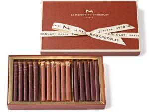 La Maison du Chocolat Les Gourmandises praline batons box Christmas 2014