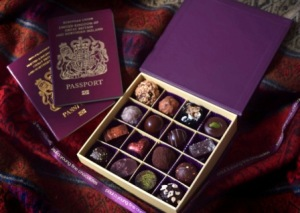 Paul A Young Destination Valentine's chocolate collection