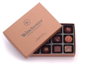 Winchester Cocoa Company Chocolate selection box