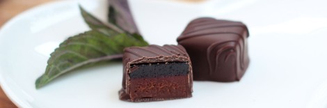 Winchester Cocoa Company chocolates fruit raspberry mint truffle