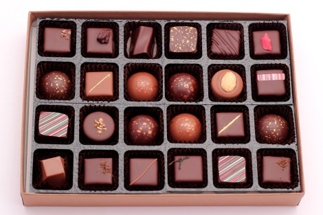 Winchester Cocoa Company Chocolate Selection Box 24 mixed