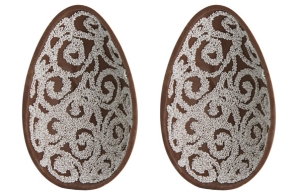 Fortnum & Mason jewellery Easter egg chocolate with silver charm