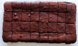B Is For Brownie slab single origin chocolate brownies