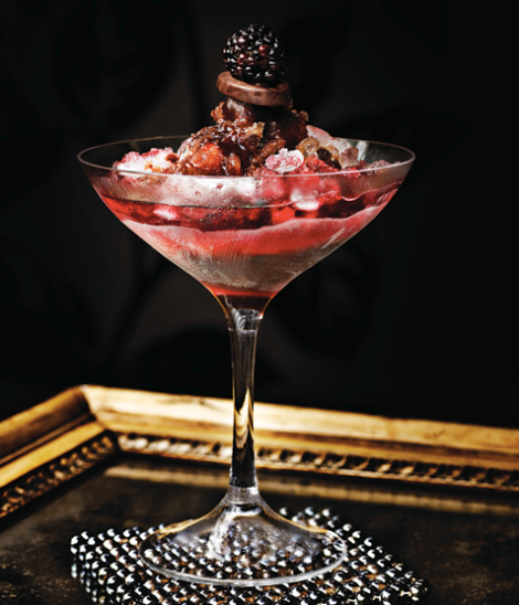 Paul a. Young bramble chocolate cocktail recipe